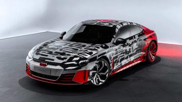 Audi E-tron GT concept teaser - pictures