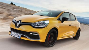 Renaultsport Clio 200 Turbo moving front