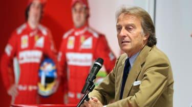 Ferrari's Luca Di Montezemolo leaves