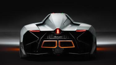 Lamborghini Egoista rear flaps down