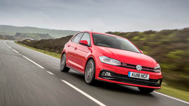 Volkswagen Polo 6 GTI - tracking
