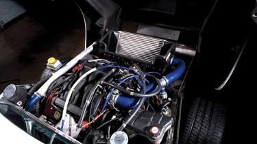 Noble M12 GTO engine bay