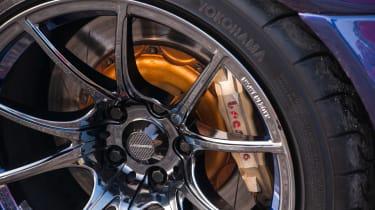 Nissan GT-R collector - wheels