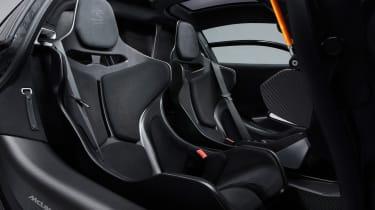 McLaren Senna – seats