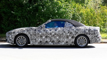 BMW 4-series spy (2019) - side
