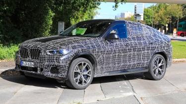 2019 BMW X6 prototype - front
