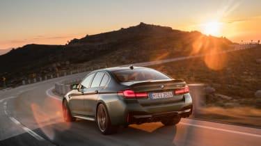 BMW M5 CS - rear sun