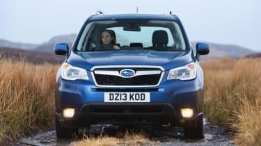 Subaru Forester diesel off road