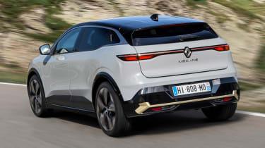 Renault Megane E-Tech Electric - rear quarter