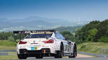 BMW M6 GT3 - rear
