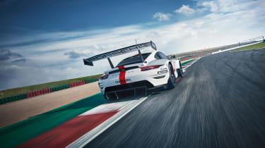 Porsche 911 RSR - rear quarter studio
