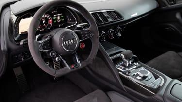 Audi R8 facelift review - interior
