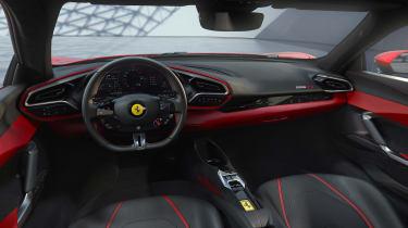 2022 Ferrari 296 GTB – cabin