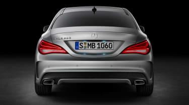 Mercedes-Benz CLA rear