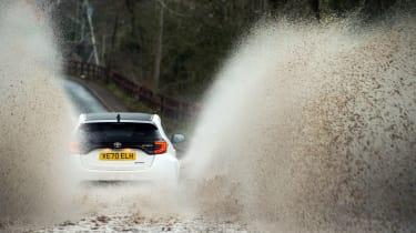 Litchfield Toyota GR Yaris – puddle rear