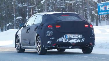 Hyundai i30 N Fastback – rear