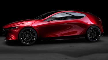 Mazda Kai Concept – side