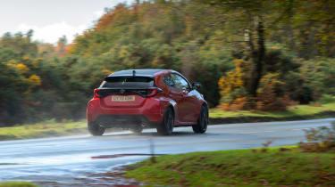 2020 Toyota GR Yaris Red - rear