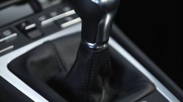 2013 Porsche Cayman S six-speed manual gear stick