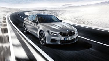 BMW M5 Competition - driving