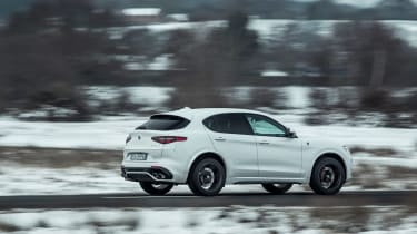 Alfa Romeo Stelvio Quadrifoglio - rear quarter