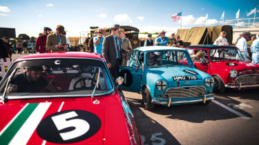 Mini Cooper S at Goodwood