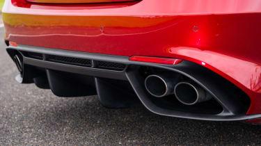 Alfa Romeo Giulia Quadrifoglio - Exhaust