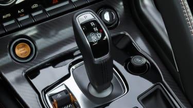 Jaguar F-type Coupe R gear selector