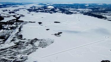 Test track arctic circle