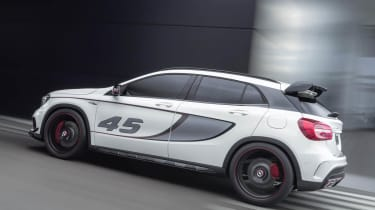 Mercedes GLA45 AMG Concept rear