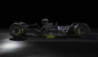 Peugeot Sport Hybrid4 500kW - powertrain silhouette