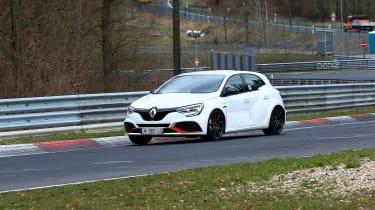 Renault Megane RS Trophy-R spied - track