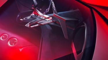 BMW Vision M Concept - dash