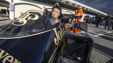 Gran Turismo creator Kazunori Yamauchi Lotus F1 car
