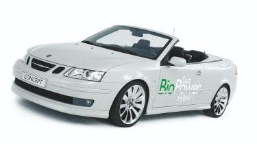 Saab 9-3 Hybrid biofuel