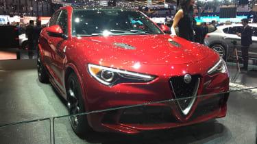 Alfa Romeo Stelvio - Geneva Show pic