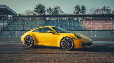 992 Porsche 911 Carrera S review - quarter