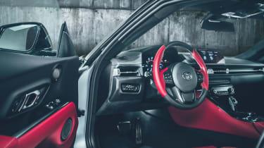 Toyota Supra A90 - interior