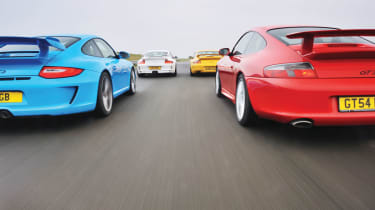 Porsche 911 GT3 group test