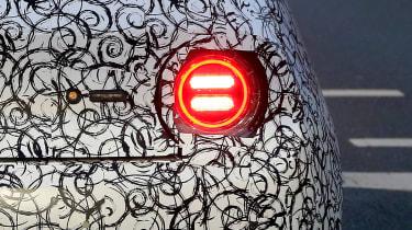 Honda Urban EV spy - rear lights