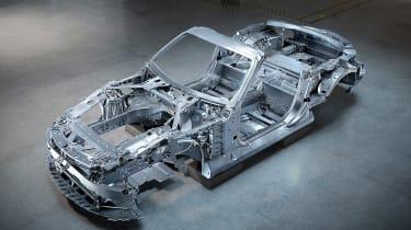 Mercedes SL structure 3