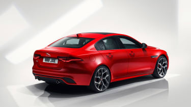 Jaguar XE facelift - rear quarter