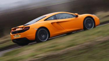 McLaren MP4-12C orange side profile