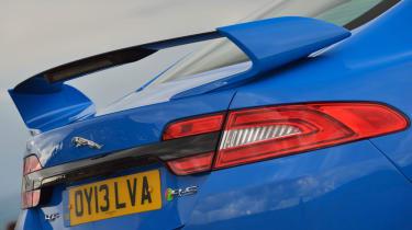 Jaguar XFR-S rear spoiler wing
