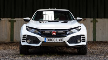 Rally-inspired Honda Civic Type R