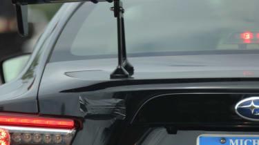Pre-production Subaru STI BRZ - Badge