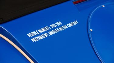 Morgan Plus 8 50th Anniversary Edition - stickers