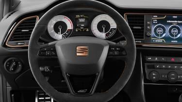 SEAT Leon Cupra R – steering wheel