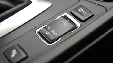 2013 BMW 330d M Sport drive mode button