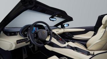 Lamborghini Aventador S Roadster - interior